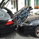 Robot pro nakládání invalidního vozíku