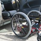 Transporting wheelchair Carony